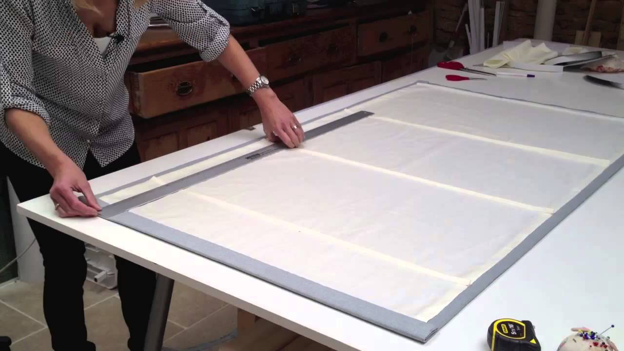 How To Make Roman Blinds Step By Step Learn How To