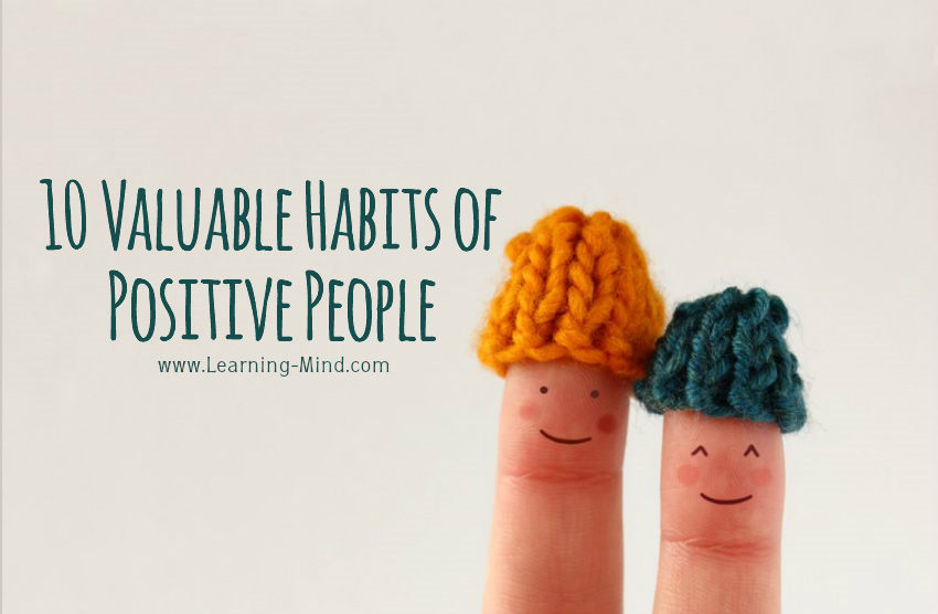 positive people habits