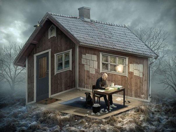 Swedish Photoshop Master Creates Mind-Blowing Optical Illusions Mind-Blowing-Optical-Illusions01