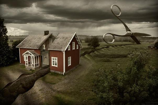Swedish Photoshop Master Creates Mind-Blowing Optical Illusions Mind-Blowing-Optical-Illusions09