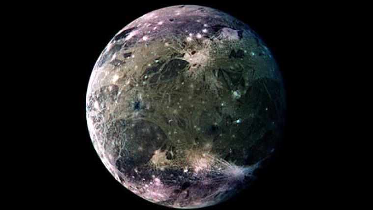 ocean on Jupiter's moon