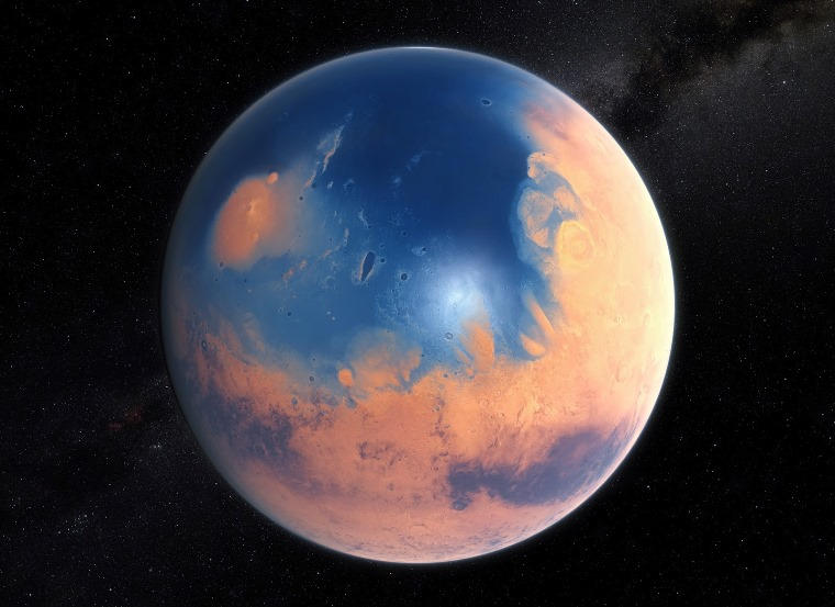 Ancient Ocean on Mars