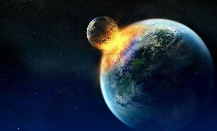mercury-like rock earth