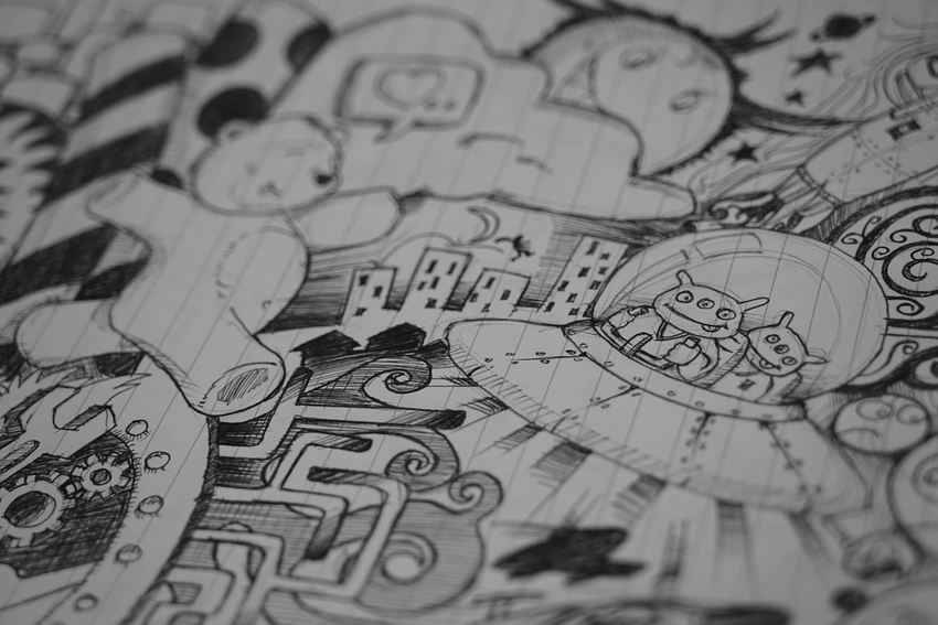 doodling brain