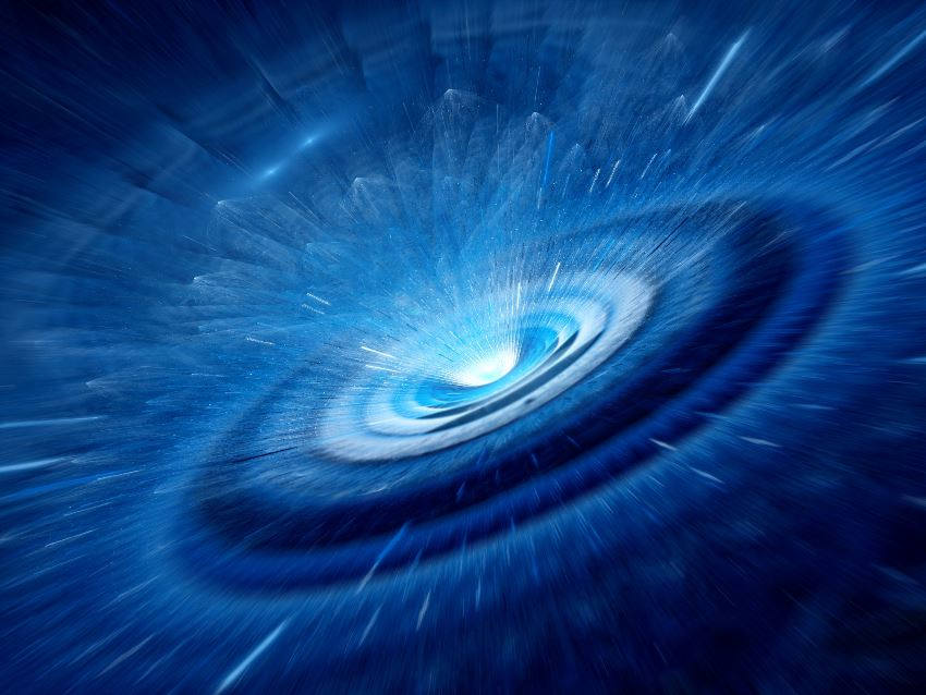 touch a black hole