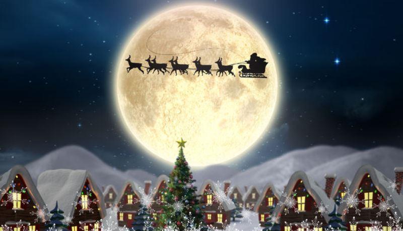 christmas full moon