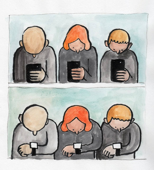 Jean Jullien illustrations