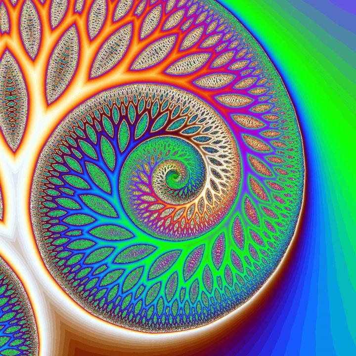 art and math fractals