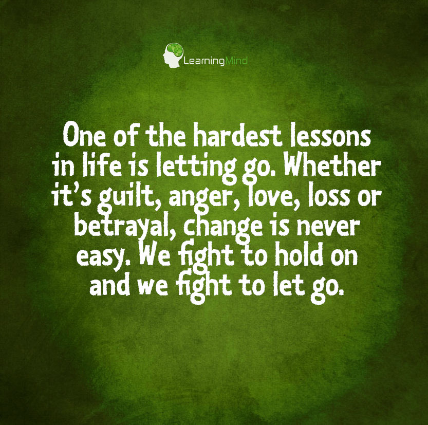 One of the hardest lessons