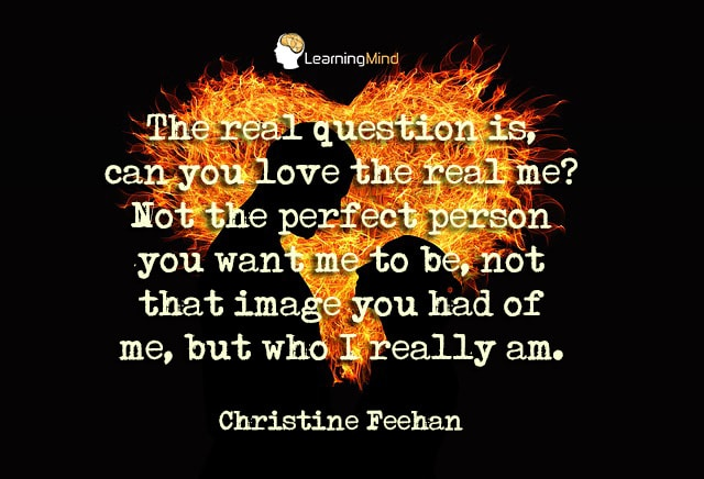 The question is, can you love the real me?