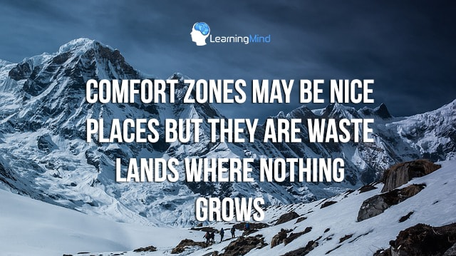 Comfort zones