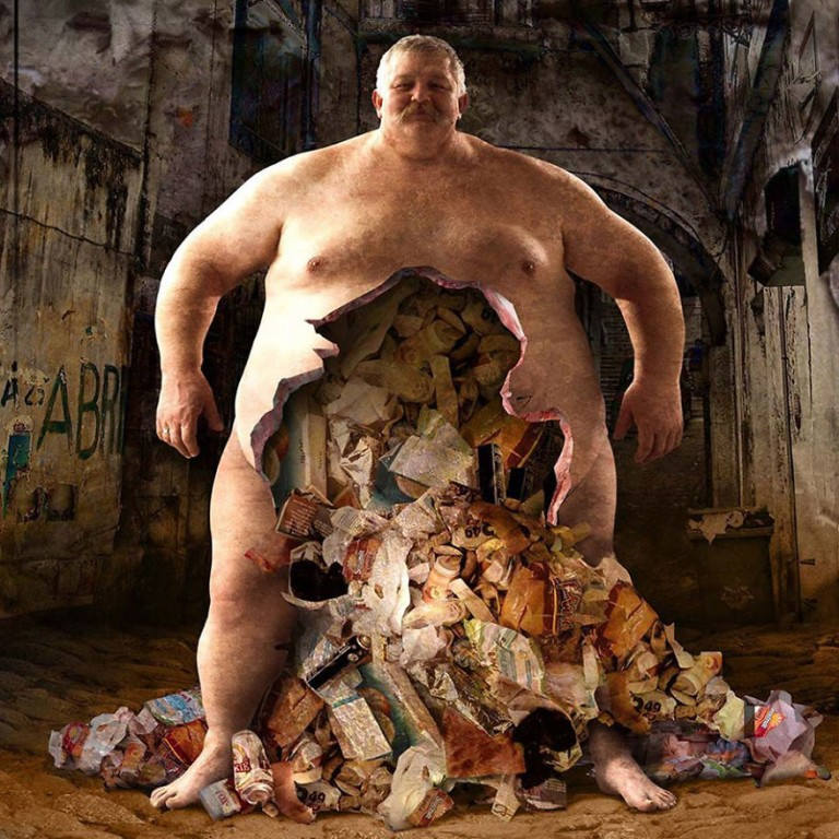 surreal illustrations igor morski trash