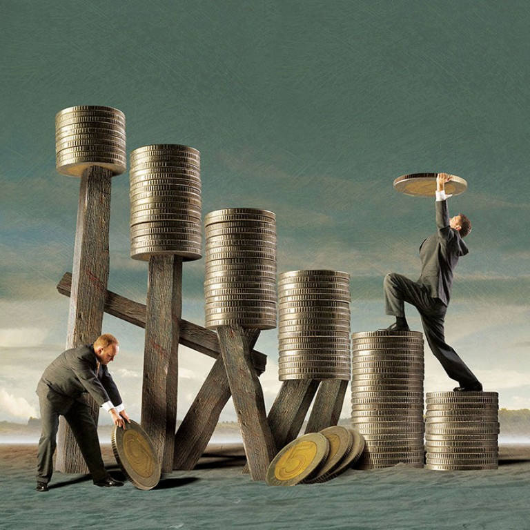 surreal illustrations igor morski coin