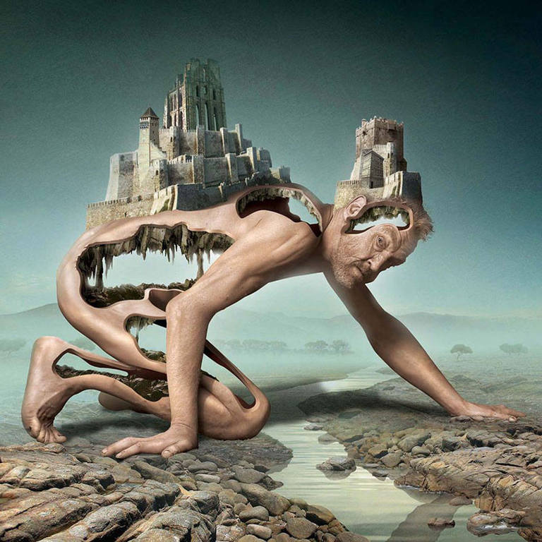surreal illustrations igor morski city