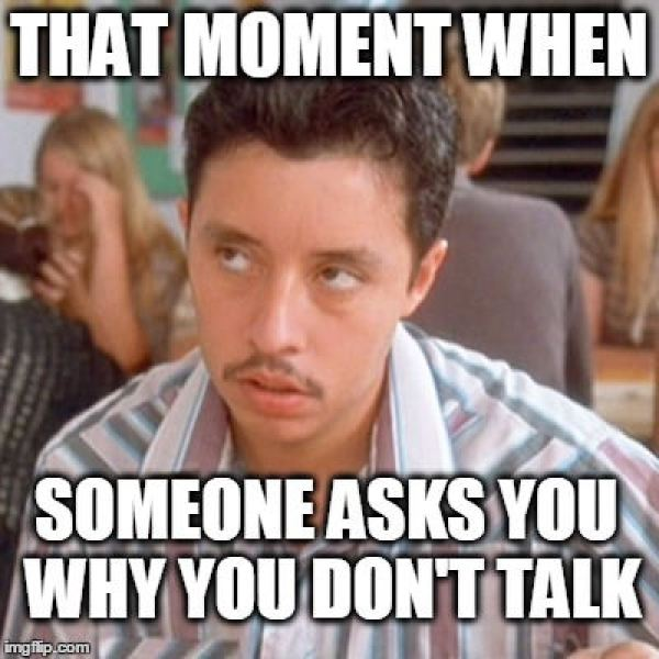 Truths Introverts Want to Tell You dont talk