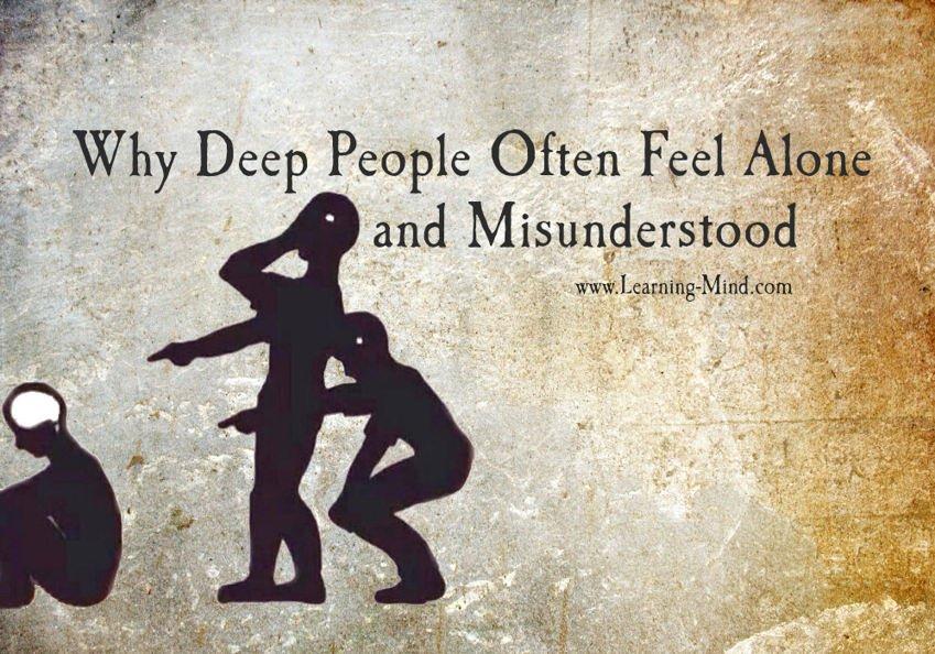 experience of being misunderstood