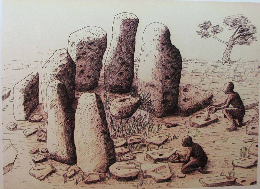 Stone monuments of unknown origin