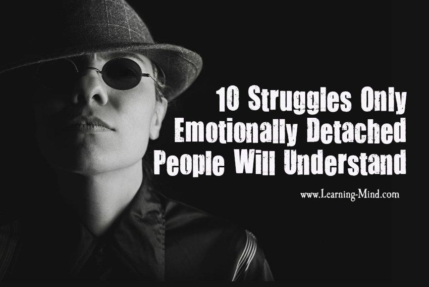 Emotionally detached men