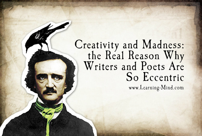 Creativity and madness of writers and poets