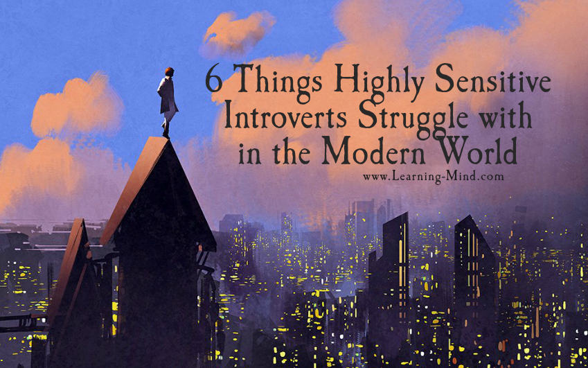 highly sensitive introverts struggles