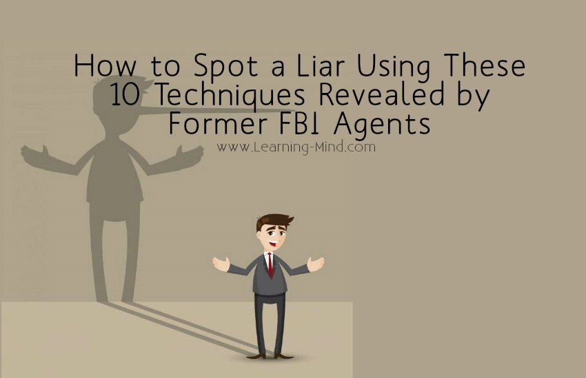 how to spot a liar