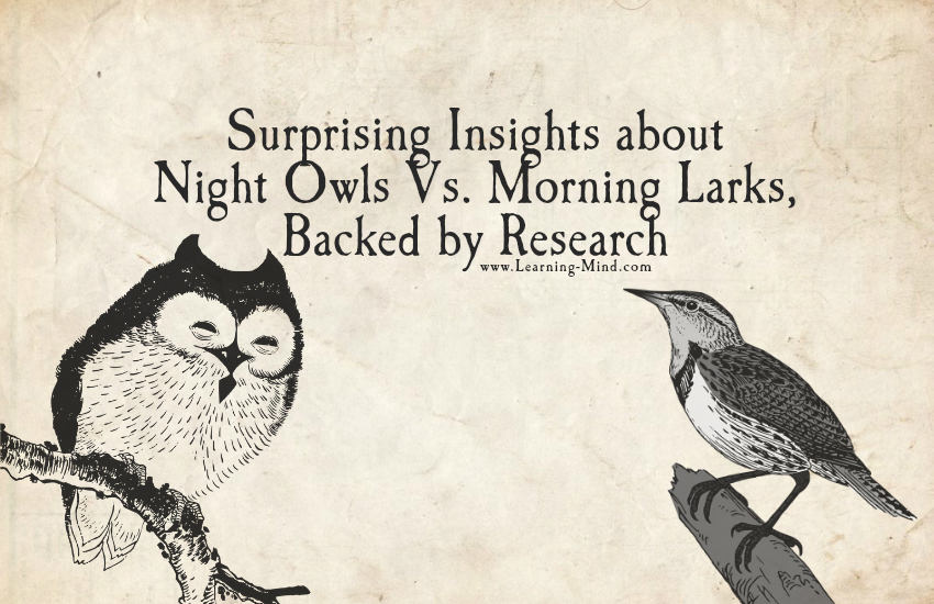 Surprising Insights about Night People Vs. Morning People, Backed by Research