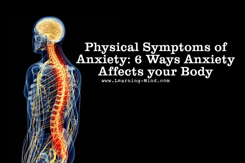 how can anxiety affect your body