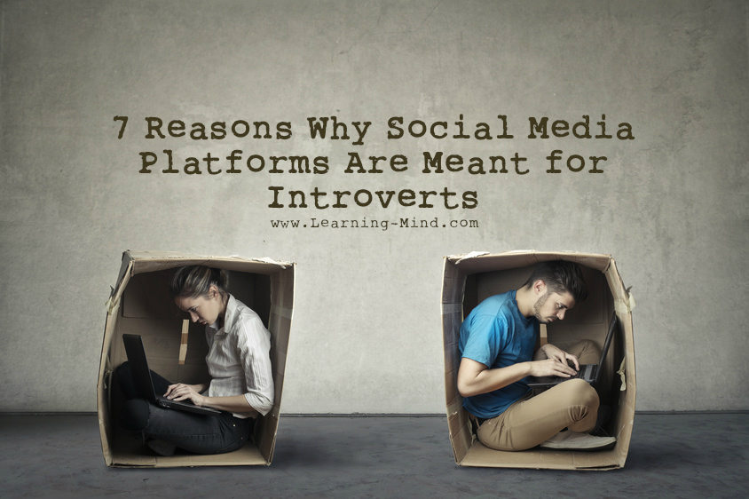 social media platforms introverts