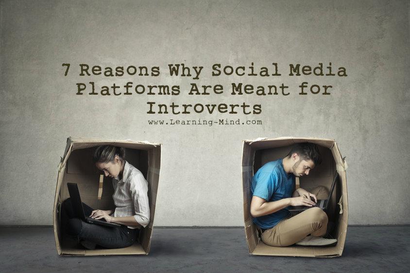 social media platforms introverts