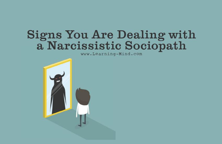 Narcissist and sociopath