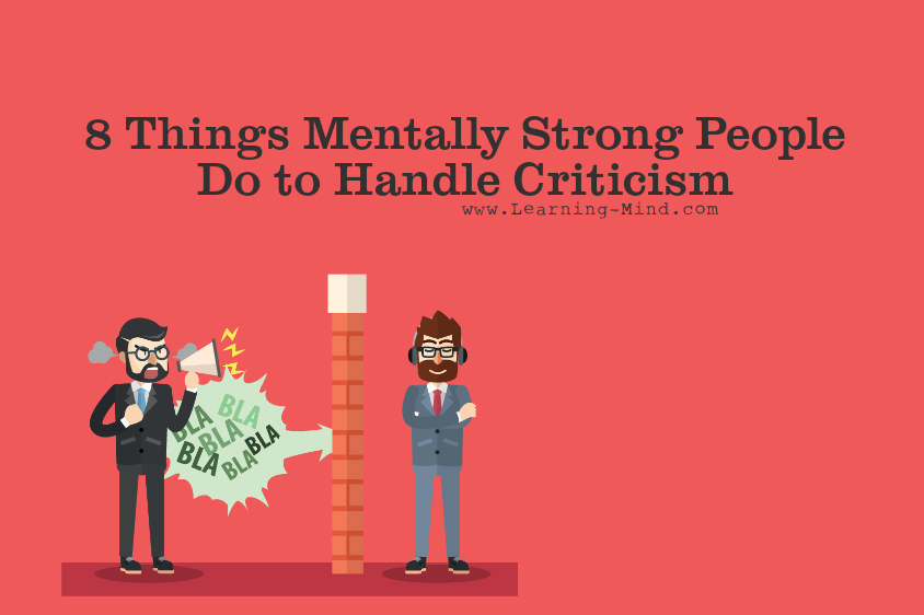 handle criticism
