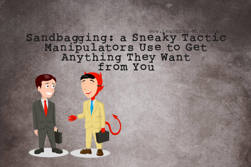 Sandbagging: a Sneaky Tactic Manipulators Use to Get
