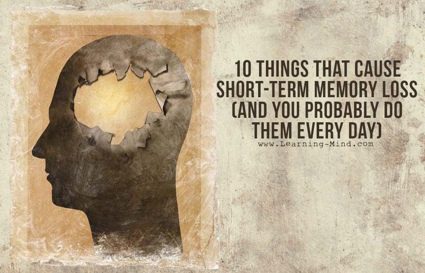 short-term memory loss