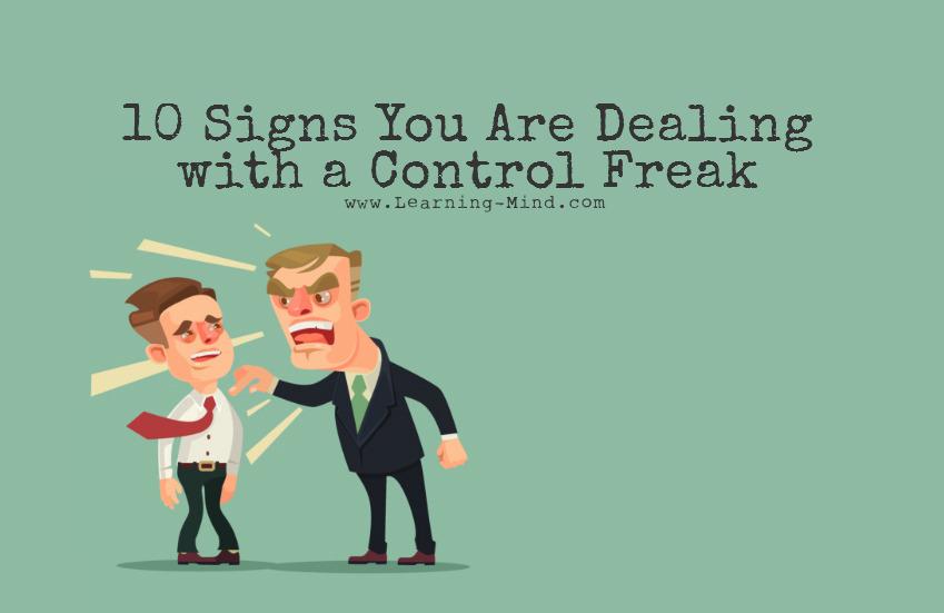 Control freak disorder symptoms