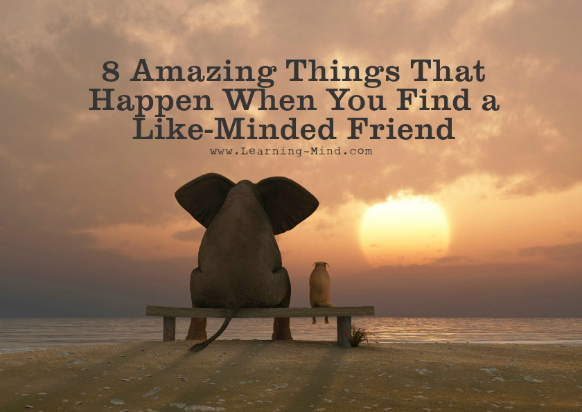 8 amazing things that happen when you find a like minded friend