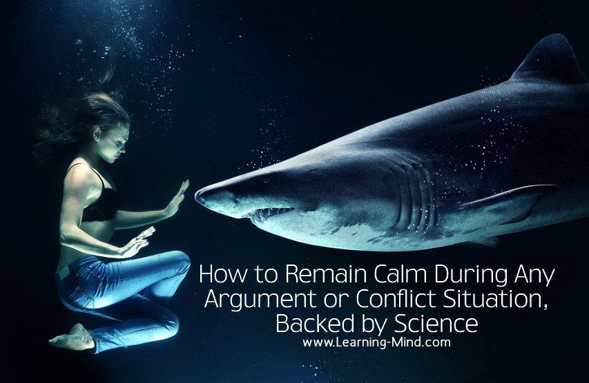 how to remain calm