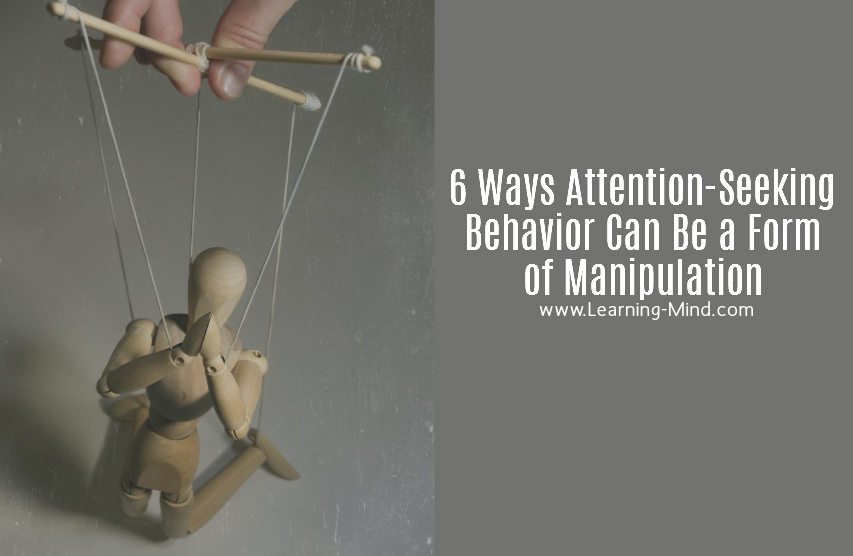 attention-seeking behavior