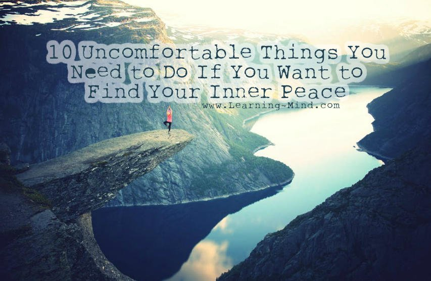 find inner peace