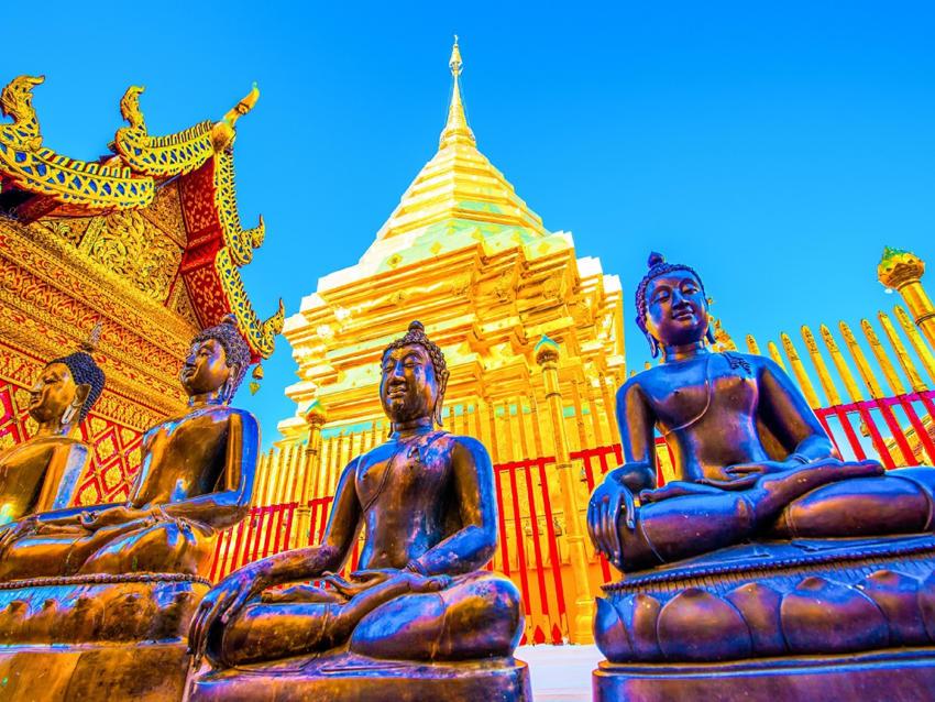 Wat Phrathat Doi Suthep places of power