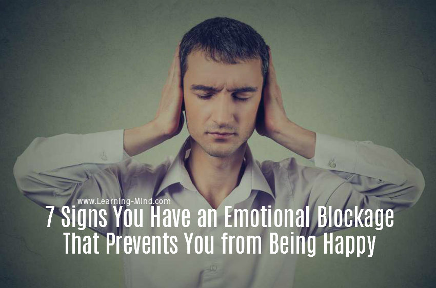emotional blockage