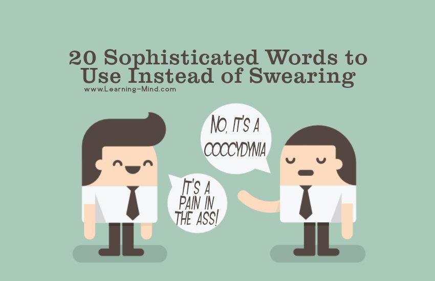sophisticated words swear