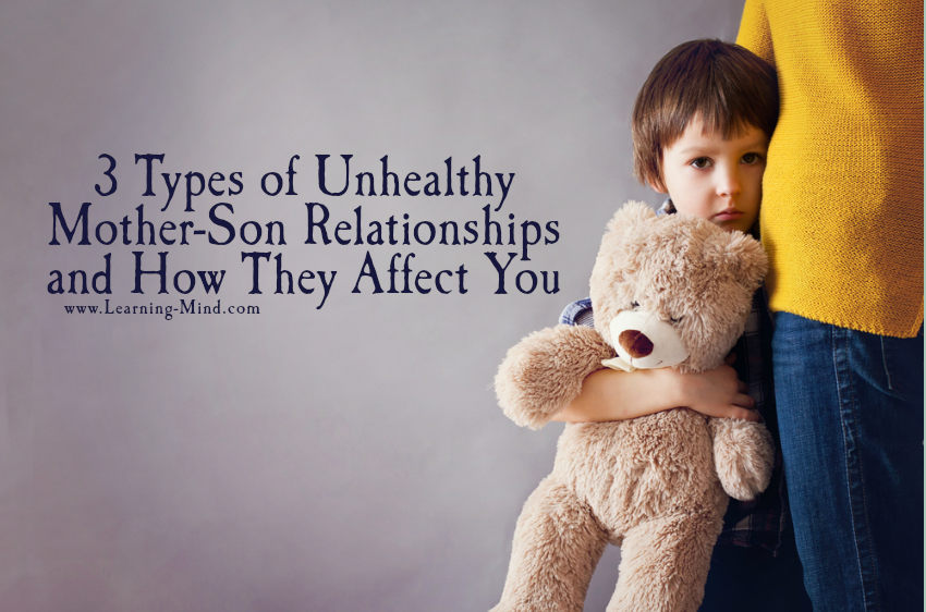 unhealthy mother-son relationships