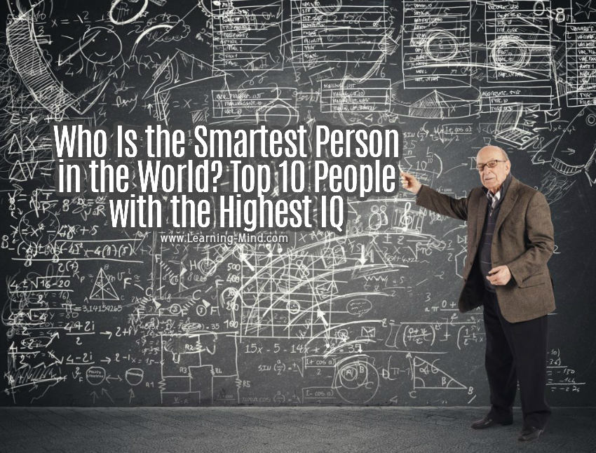 smartest person in the world