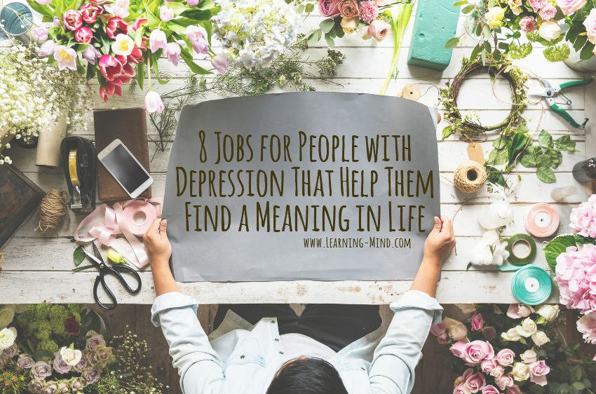 jobs for people with depression