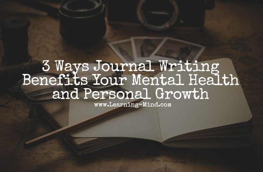 journal writing benefits