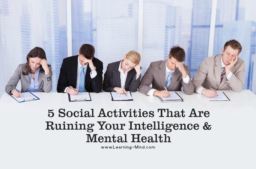 social activities intelligence