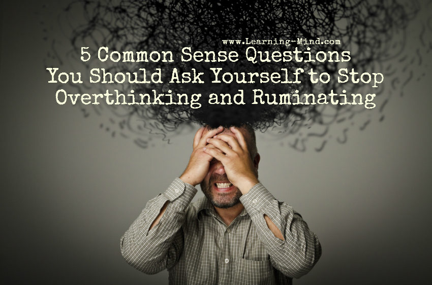 common sense questions overthinking