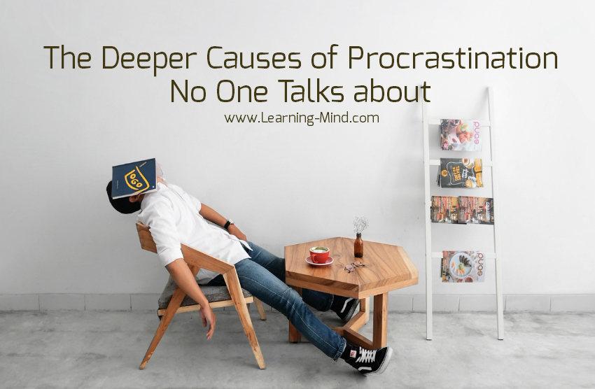 deeper causes of procrastination