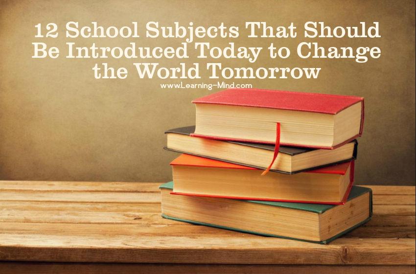 school subjects change the world