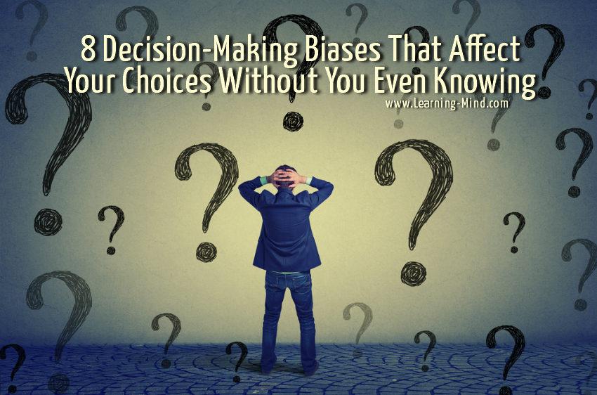 decision-making biases